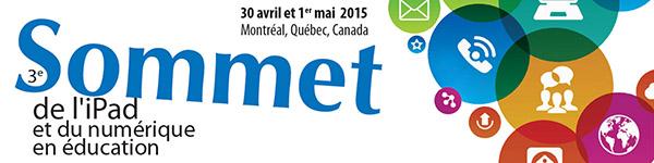 3e Sommet de l'iPad et du numérique en éducation