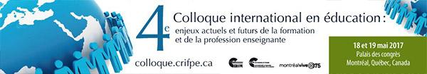 4e Colloque international en éducation