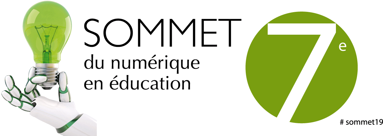 7e Sommet du numérique en éducation