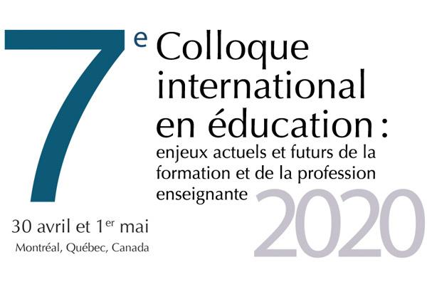 Colloque international en éducation