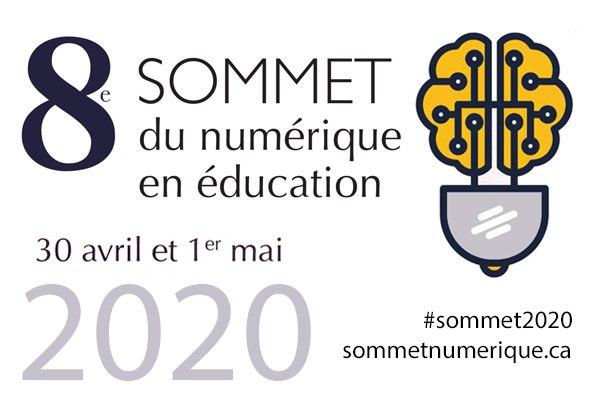 Sommet du numérique en éducation