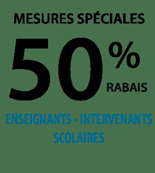 Rabais 50%