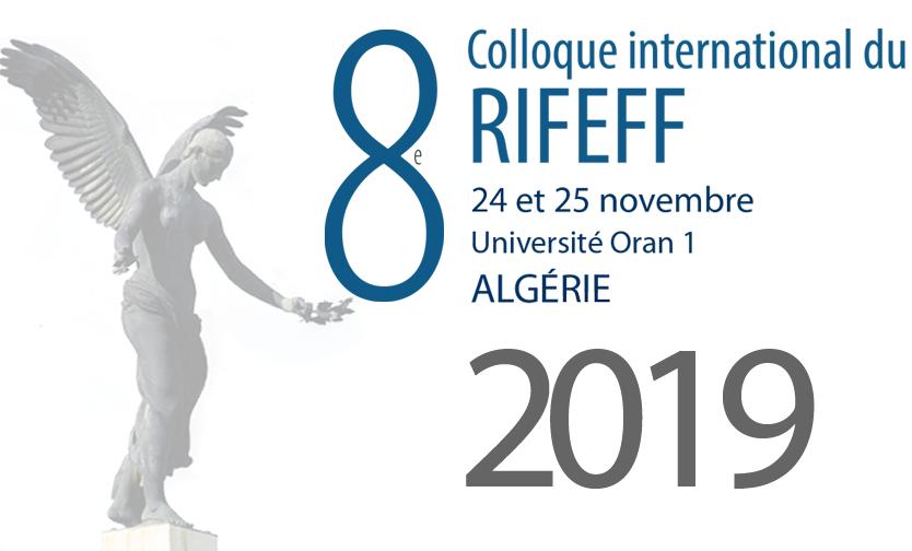 colloque du RIFEFF 2019