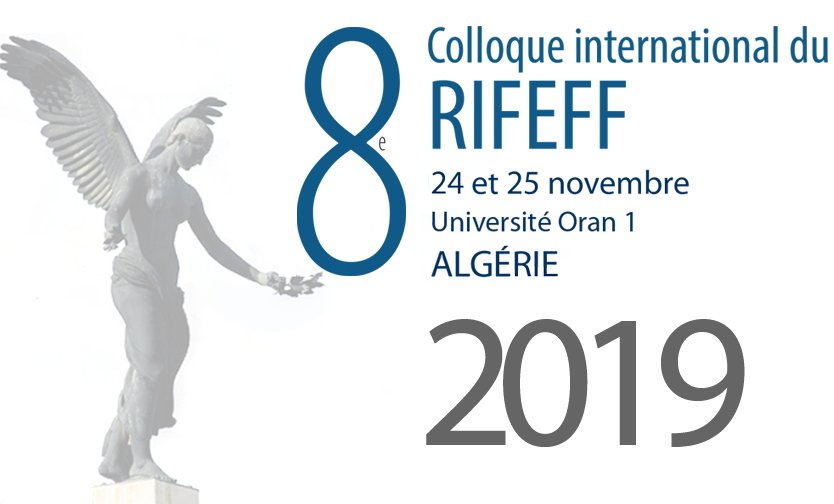 colloque du RIFEFF 2019